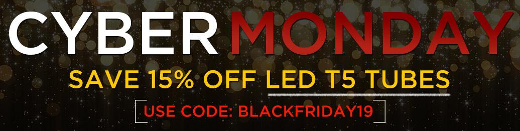 15% Off LED T5 tubes
