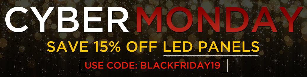15% Off LED Panels