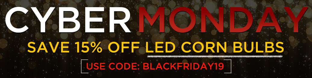 15% Off LED Corn Bulbs